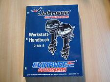"""Werkstatthandbuch Johnson / Evinrude Außenborder """" ED """" Modell 1996 2 - 8 PS"""
