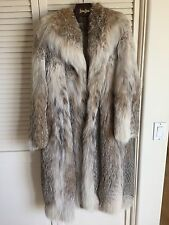 Women's Lynx Fur Coat - Size 8-10