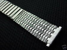 Vintage Stainless Steel Center X watch band 16-20mm Expansion