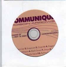 (DE212) Communique, Poison Arrows - 2004 DJ CD