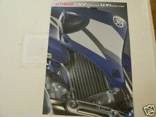 Y247 YAMAHA BROCHURE YZ426F/250F,WR426F/250F DUTCH 8 PAGES MX CROSS BIKES 2002 ?