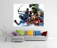 THE AVENGERS ASSEMBLE MARVEL GIANT WALL ART PICTURE PRINT POSTER G51