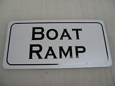 BOAT RAMP Metal Sign 4 Country Club BAR Shop Sail Fishing Boat Dock Marina
