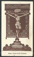 Estampa antigua Cristo de la Victoria andachtsbild santino holy card santini