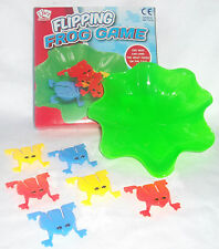 NEW FUN FLIPPING FROG GAME WITH 6 JUMPING FROGS AND LILY PAD BOX 3+ PADGETT 8870