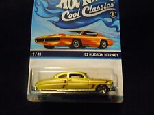 HW HOT WHEELS 2014 COOL CLASSICS #9/30 '52 HUDSON HORNET HOTWHEELS ANTI VHTF