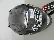 Icon Helmet Full Face Threshold Silver XXL 2X 0101-5423 NEW