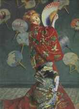 112 Camille MONET in Giapponese Costume 1875 stampa in A4