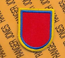 US Army 127th Engineer Bn Airborne beret flash patch c/e