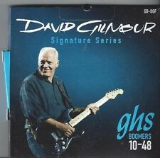 GHS DAVID GILMOUR SIGNATURE SERIES BOOMERS ELECTRIC GUITAR STRINGS 10-48 GB-DGF