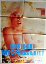 manifesto movie poster 2F DESIDERI INCONFESSABILI white hot carter stevens