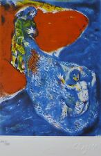 MARC CHAGALL ARABIAN NIGHTS 1985 HAND NUMBERED 245/333 LITHOGRAPH M 43