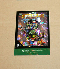 XBOX One Exclusive PROMO RARE REPLAY card from Gamescom 2015 (foil)