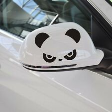 2 Pics Hi angry Panda Drift Car Mirror Vinyl Decal JDM Sticker
