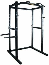 POWERTEC Power Rack WB-PR16 Squat Cage Bench Press Home Gym Fitness