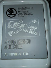SKODA WORKSHOP MANUAL 440 445 450 FELICIA OCTAVIA 1955 - 1970 SUPER ROADSTER COM
