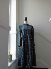 VINTAGE LAURA ASHLEY CORD DRESS  SIZE  10 12