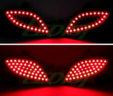 LED Ver.2 Rear Bumper Reflector Light Lamp 2way For 2012+ Hyundai Elantra GT 5d