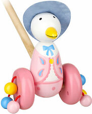 Orange Tree Toys JEMIMA PUDDLE DUCK PUSH ALONG Baby/Toddler/Child BN