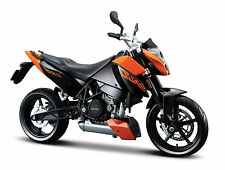 KTM 690 Duke maisto 1:12  orange-schwarz Motorradmodell diecast model