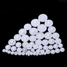 58Kinds Plastic Gears M 0.5 Robotic Part for Car Model DIY Helicopters Motors RC