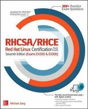 RHCSA/RHCE RED HAT LINUX CERTIFICATION (978007184 - MICHAEL JANG (PAPERBACK) NEW