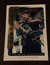 1996-97 Pinnacle Claude Lapointe Be A Player Autograph #200 Card Nr/Mt-Mt
