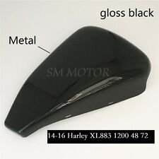 Gloss black Left Side Battery Cover for Harley Sportster XL 883 1200 2014-2016
