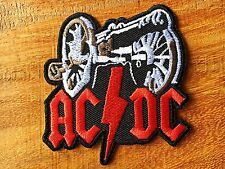 Ac Dc Music Band Logo II Iron on Sew on Patch Iron-on