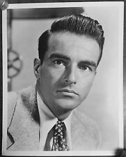 Vtg orig 1950s Montgomery Clift Striking & Handsome Portrait movie film photo