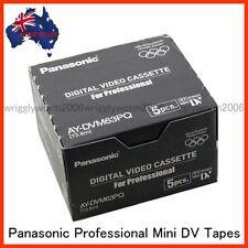 20x Panasonic AY-DVM63PQ MiniDV Cassette Professional Mini DV Tape 20pack