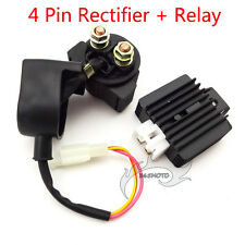 ATV Quad Regulator Rectifier Solenoid Relay For 50cc 110cc 125cc Lifan Loncin