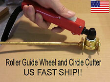 PT-31 Plasma Torch Roller Guide Wheel + Circle Cutter - *FAST US Ship*