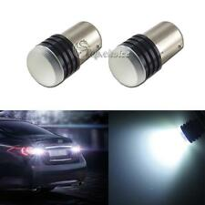 2pcs High Power White 1156 7506 P21W LED COB Bulbs Car Backup Reverse Light