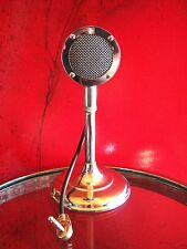 Vintage RARE 1940s Astatic D-104 crystal microphone old w Shure magnetic element