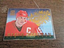 2000 Pacific Paramount Ice Alliance Steve  Yzerman Detroit Red Wings