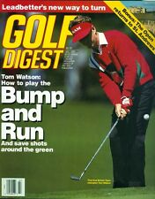 1990 Golf Digest Magazine: Tom Watson- How to Play the Bump and Run/St. Andrews