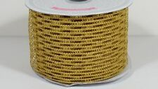 """2 1/2"""" Wired Stretch Mesh Netting Ribbon (Stretches to 4"""")  - 10 Yards"""