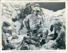 1960 Actor Sidney Poitier in All The Young Men Press Photo