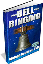 BELL RINGING ~ Vintage Books on DVD ~ Campanology, Church History, Antiques