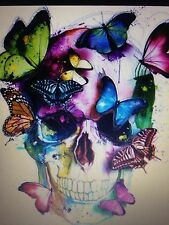 BUTTERFLY SKULL 2 cross stitch chart