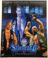 "2001 WWF Stone Cold Steve Austin 16x20"" Poster by Funky ^ Wrestling WWE Rare"
