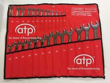 Metric 26 Piece Spanner Wrench Set Mirror Finished 6-32mm New Drop Forged Steel