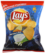 "Potato Chips Lays ""Sour cream and onion"""