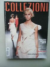 Collezioni 2002 Pret-a- Porter Fashion Shows Milano Paris Romantic wave Mode
