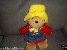 VINTAGE CRAFTSMAN SEARS NOVELTY PADDINGTON BEAR PLUSH DOLL FIGURE DARKEST PERU