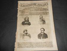1871 FRANCIA UOMINI DELLA COMUNE QAUDRO STEFANO USSI CASA IN BASSA LOMBARDIA