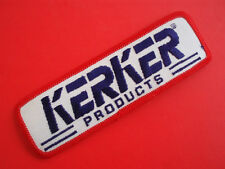 "KERKER EXHAUST (NOS) Vintage 5"" Racing Patch Kawasaki Z1 KZ900 KZ1000 Dragbike"