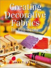 Creating Decorative Fabrics in 112 Scale-ExLibrary