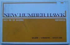 Humber Hawk Series IV Original UK Salesmans Book Pub.1135/H 1964